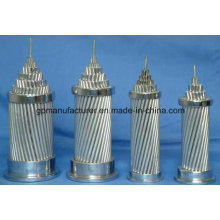 Conductor de aluminio desnudo de alto voltaje ACSR
