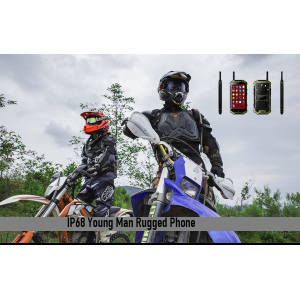 IP68 Young Man Rugged Phone