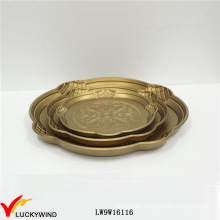 Roundness Dessert Wooden Serving Plate