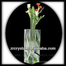 Beau vase en cristal L017
