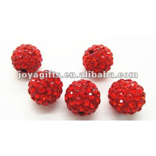10mm shamballa clay crystal ball,shamballa round beads