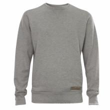 15PKSWT03 slim fit herren 100% baumwolle fleece sweatshirt