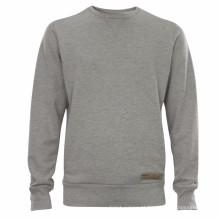15PKSWT03 slim fit homens 100% algodão camisola de lã