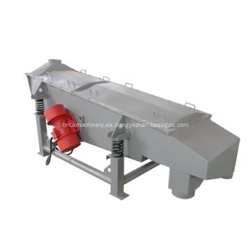 Separador de criba vibratoria lineal de la máquina tamizadora de granos de coco