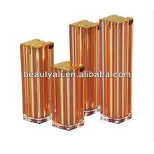 15ml 30ml 40ml frasco de acrílico sem cosméticos cosméticos quadrados de 50ml