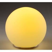 Lâmpada de mesa de vidro LED Opal para lâmpada de mesa decorativa