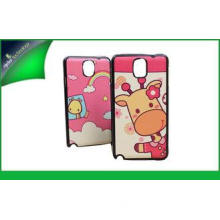 Fasionable Cartoon Protective PU Leather Phone Case For Sam