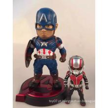 Mini figura de alta qualidade personalizadas figura boneca crianças brinquedos de plástico