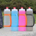 Botella de agua plástica libre de BPA de la boca ancha de 21o a prueba de fugas