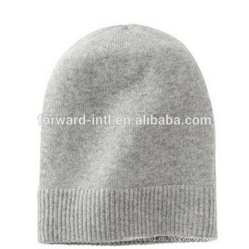 sombrero de cachemira de punto de alta calidad