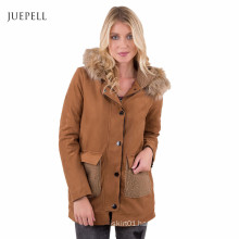 Suede Fashion Sport Wear Winter Women Coat