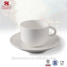 High quality coffee cup cafe, porcelain cups & saucers