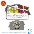 Factory Direct Sell Custom Portugalete Soft Enamel Pin Badge From China