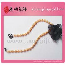 Bijoux d'été de la mode Natural Style perle d'eau douce Jeweled Bra bretelles