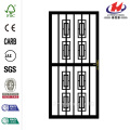 312 Series Black Modern Security Door
