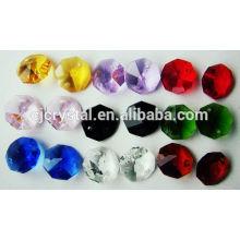 2015 octagons de cristal colorido por atacado