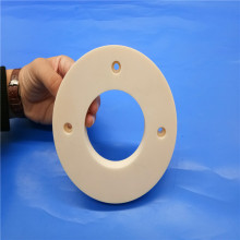 Customized Alumina Ceramic Flange Plate / Ceramic Disc