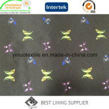 Прекрасная Бабочка печати подкладки для женской ткани
