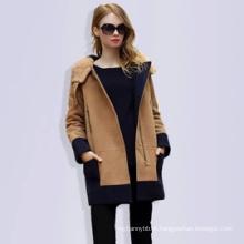 Brasão por atacado New Style Moda Mulheres Casaco de Inverno
