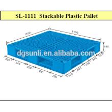 Standardraster heavy-Duty beidseitig Kunststoff-Paletten zu verkaufen