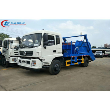 2019 new Dongfeng cummins 170hp skip loader garbage truck