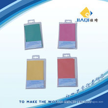 microfiber cleaning cloth with PVC package