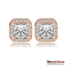 2colors Classical Square Stud Earring pour femme (ER0192)