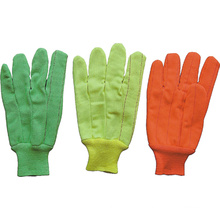Hi Viz Red Color Cotton Work Glove-2104