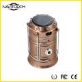 Dual Recharging Dual Luminous Ways Solar Camping Lantern (NK-168)