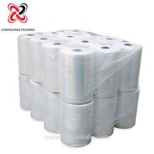 Klare Stretchfolie Kunststoffpalette Wrap