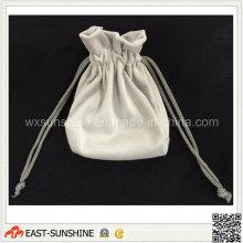 Suede limpieza de joyería y bolsa de protección (DH-MC0312)