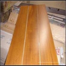 Fabrication de planchers en bois d'ingénierie de teck de Multi-Ply 15mm