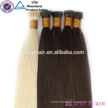 Doble rusa pre-consolidada extensión IU Flat Tip Hair Armadura al por mayor de Reino Unido