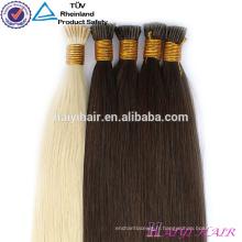 Double Vierge Russe dessinée Pré-Bondé Extension IU Flat Pointe Cheveux Weave En Gros Uk