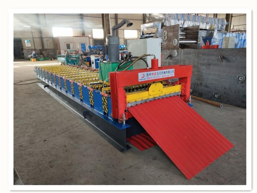 2018 Corrugated Roof Sheet Roll Forming Machine