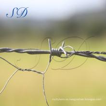 Fabricación del alambre de púas de alta calidad Fabricantes