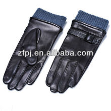 best sale fashion men motor cycle genuine leather gloves