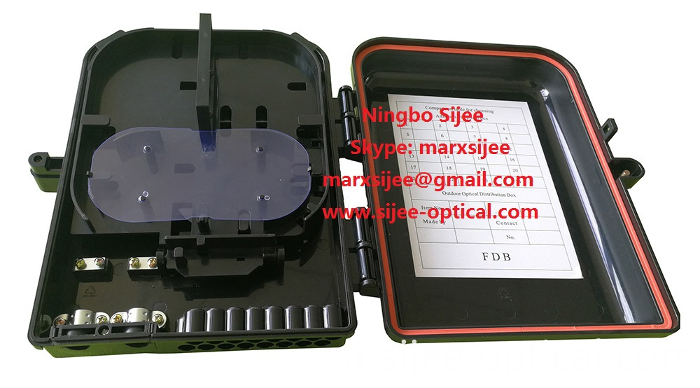 waterproof fiber optic cable joint box