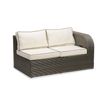 Rattan Furniture Outdoor Hand Weaving L Shape Sofa