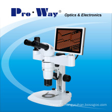 Professional Video Digital LCD Screen Stereo Microscope (ZTX-PW900LCD)