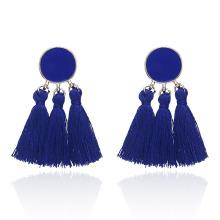 Wholesale womens bohemian tassel earrings