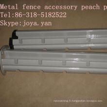 Accessoire de clôture en métal Peach Post