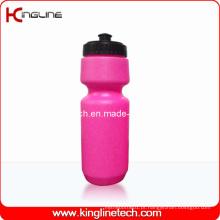 Garrafa de água de plástico, garrafa de água de plástico, garrafa de bebida plástica de 750 ml (KL-6716)