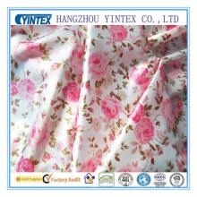 Tissu d'impression en soie à 100% soie (tissu Yintex)