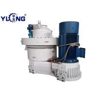 Máquina granuladora de compresión de yuca