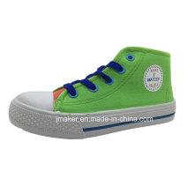 Zapatos al aire libre populares de la inyección de los niños del tobillo del estilo popular (X172-S & B)