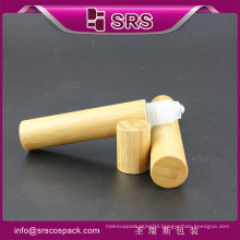 SRS PACKAGING high recommended and promotion roll on bottle,bamboo lotion roller bottle