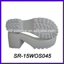shoe sole manufacturers white lady pu sole