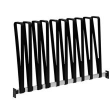 Zapatero de metal montado en la pared para 3 pares, bastidor de arranque