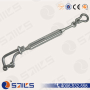 Galvanized Forged Carbon Steel Lashing Turnbuckle for Wire Rope